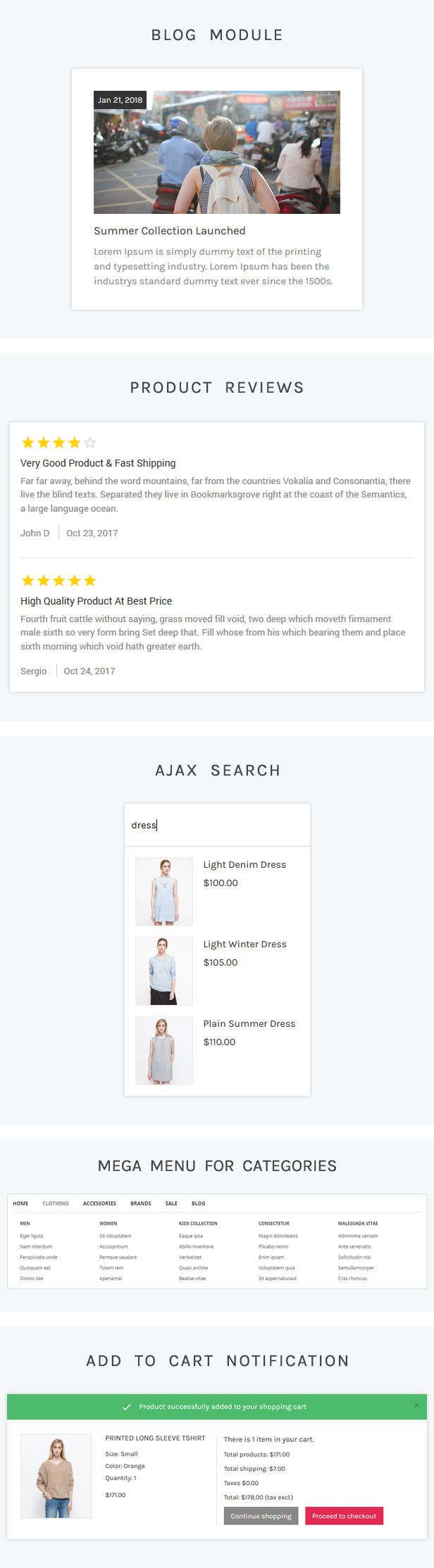 UniqueShop - Prestashop Theme - 1