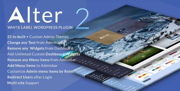 Photo of [Download] White Label Wordpress Plugin – WpAlter