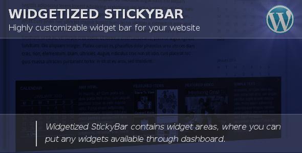 Photo of [Download] Widget Bar for WordPress