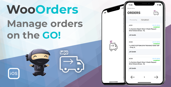 Photo of [Download] WooOrders – Woocommerce Order Manager For Mobile Written in Swift 4 Xcode IOS