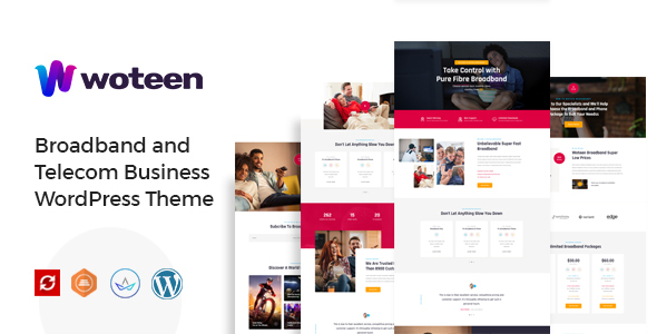 Photo of [Download] Woteen – Broadband and Telecom Business WordPress Theme