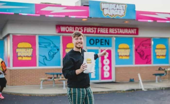 Donaldson's first MrBeast burger restaurant