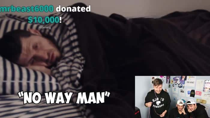 MrBeast made a $10,000 donation to a Twitch streamer with 0 followers