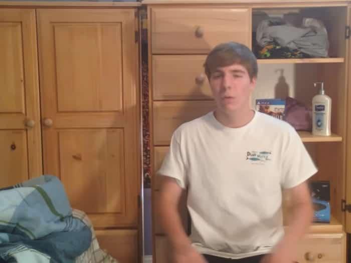 MrBeast in a video in 2015